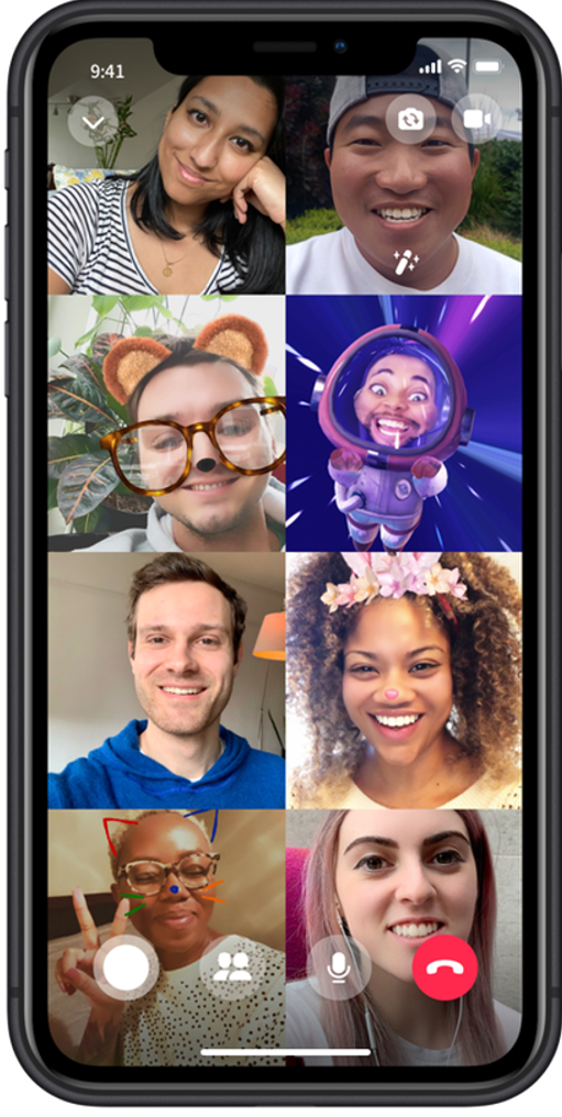 Messenger Rooms on Mobile3